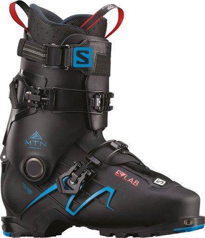 Salomon S/Lab MTN Alpine Touring Ski Boots Black/Transcend Blue 2019