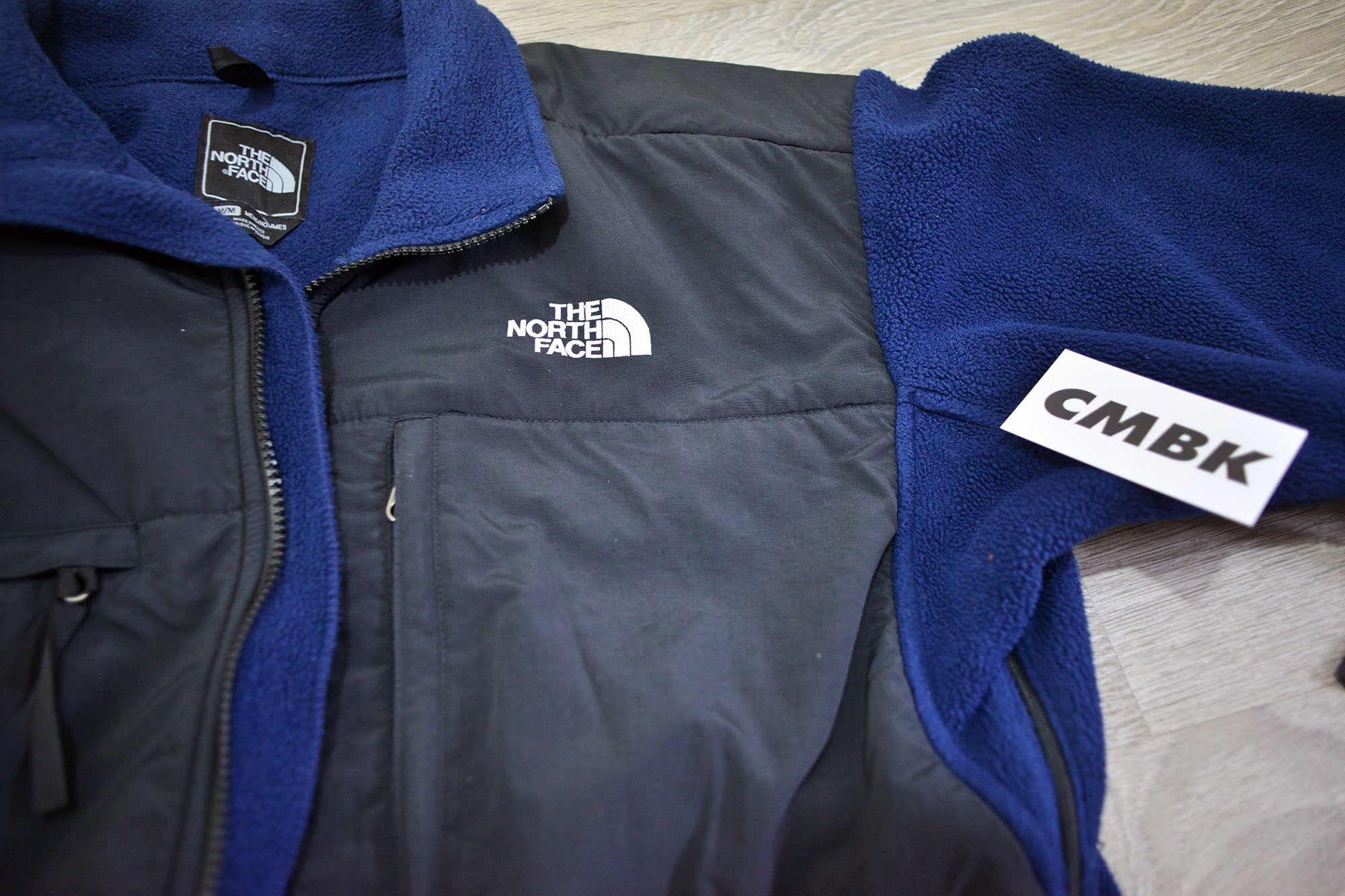 Vintage The North Face Black/Navy Denali Fleece