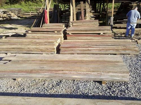 Wormy Chestnut Lumber Reclaimed
