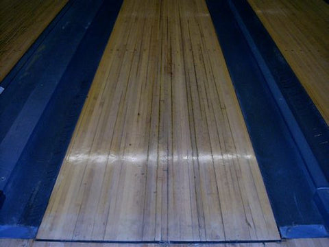 Reclaimed Bowling Lanes