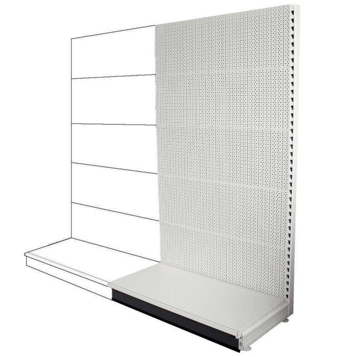 Add-on Wall Bay - All Peg Panels, Choice of widths & heights...