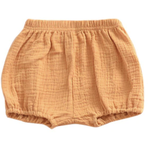 Emerson and Friends mustard baby bloomers gender neutral