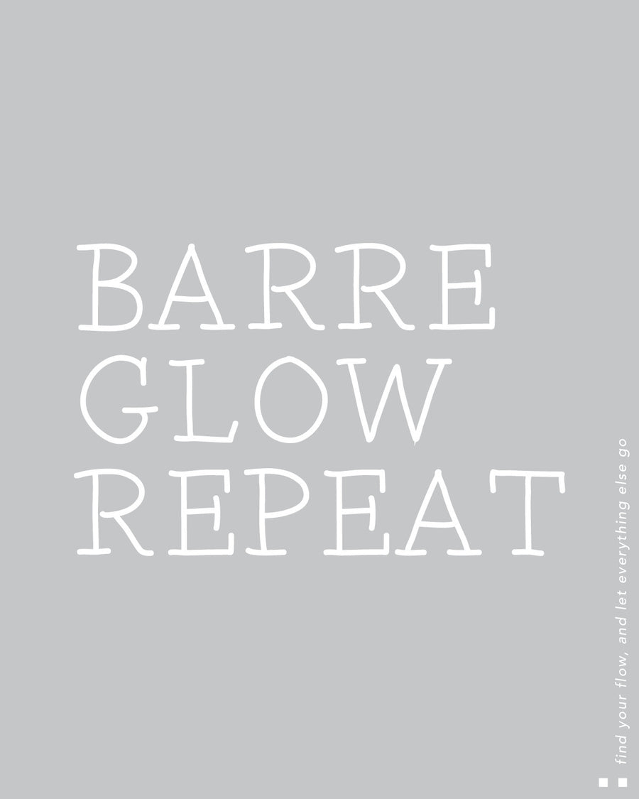 Barre Glow Repeat Muscle Tank