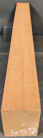 Mahogany 2-1/2x3-1/2x26 Electric Neck N-607