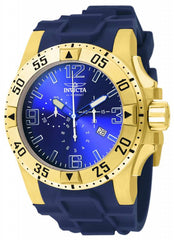 Invicta Men's 11903 Excursion Quartz Chronograph Blue Dial Watch