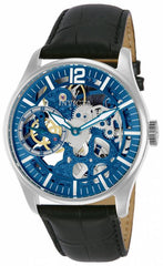 Invicta Men's 12404 Vintage Mechanical Multifunction Blue Dial Watch