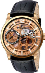Invicta Men's 12407 Vintage Mechanical Multifunction Rose Gold Dial Watch