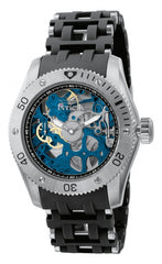 Invicta Men's 1257 Sea Spider Mechanical 3 Hand Black Dial Watch