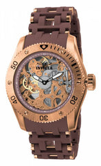 Invicta Men's 1260 Sea Spider Mechanical 3 Hand Brown Dial Watch