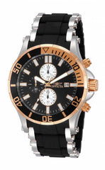 Invicta Men's 13666 Sea Spider Quartz Chronograph Black Dial Watch