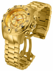 Invicta Men's 14473 Excursion Quartz 3 Hand Gold Dial Watch