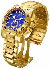 Invicta Men's 15329 Excursion Quartz Chronograph Blue Dial Watch