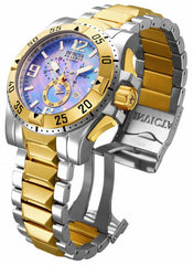 Invicta Men's 15333 Excursion Quartz Chronograph Platinum Dial Watch