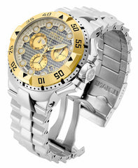Invicta  Men's 15981 Excursion Quartz Chronograph Silver Dial Watch