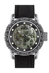 Invicta Men's 18600 Vintage Mechanical Multifunction Black Dial Watch