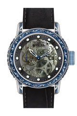 Invicta Men's 18601 Vintage Mechanical Multifunction Black Dial Watch