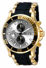 Invicta Men's 80139 Sea Spider Quartz 3 Hand Silver Dial Watch