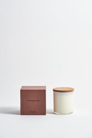 Le Feu De L'Eau Colorblock Candle in Amber | Oroboro Store | New York, NY