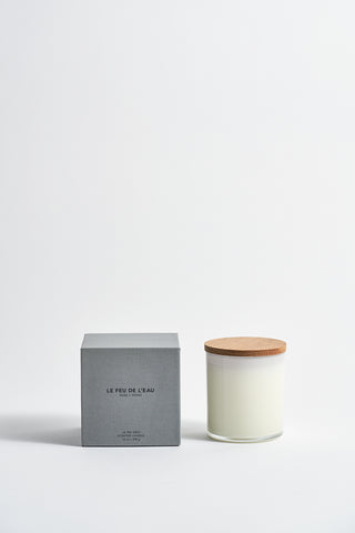 Le Feu De L'Eau Colorblock Candle in Musk + Smoke | Oroboro Store | New York, NY