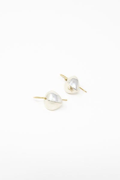 Ursa Major Coeur Drops in Sterling Silver with 14K Gold | Oroboro Store | New York, NY