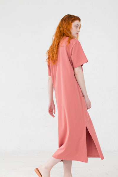 Studio Nicholson Boyd Dress in Medina Pink | Oroboro Store | New York, NY
