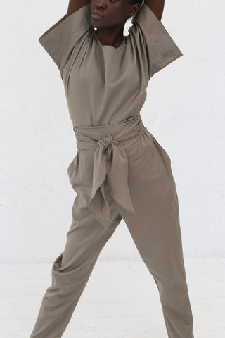 Black Crane Multi Pants in Sand | Oroboro Store | New York, NY