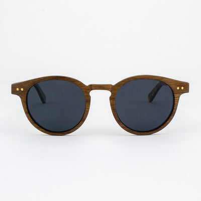 Marion black walnut adjustable wood sunglasses