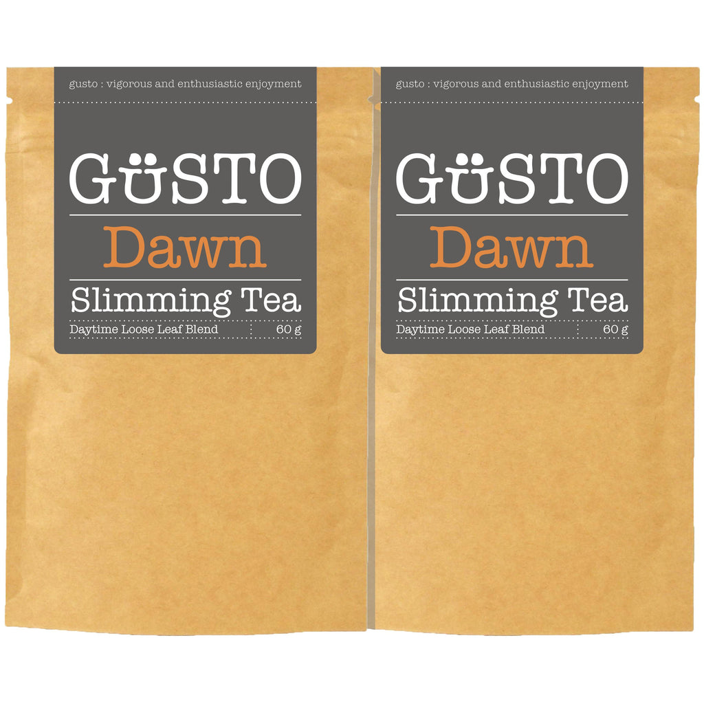GUSTO Slimming Tea - Twin Pack - 2 x Dawn