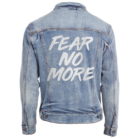 Fear No More Denim Jacket Pre-Sale