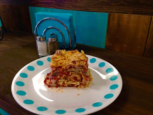 HERB AND BEEF LASAGNA
