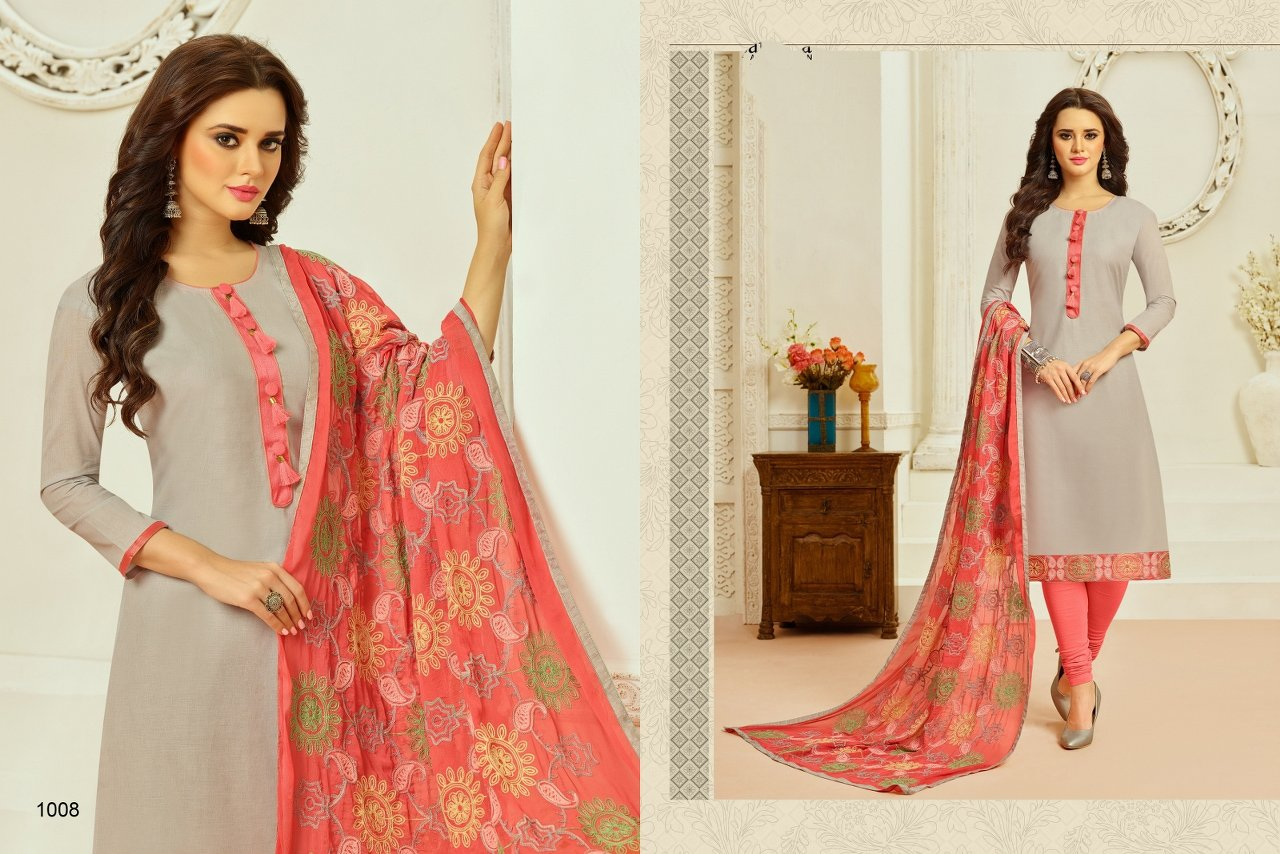 Out standing cream color Salwar Suit