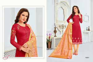 Amazing red color Salwar Suit