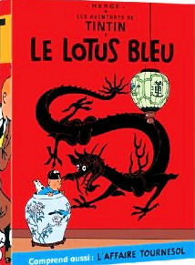 Tintin Le Lotus Bleu et L'Affaire Tournesol