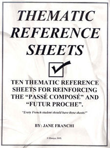 Thematic Reference Sheets