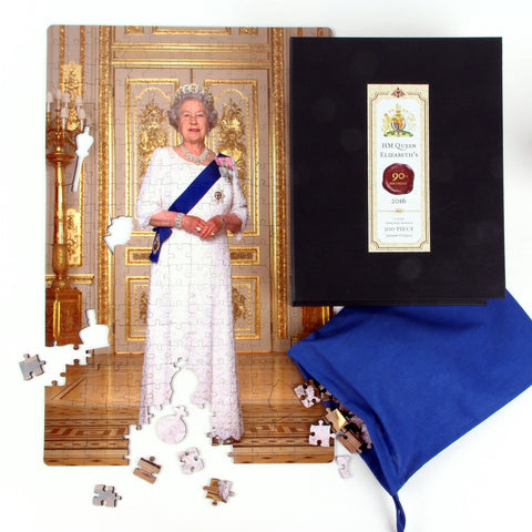 Jigsaw puzzle to celebrate the queen
