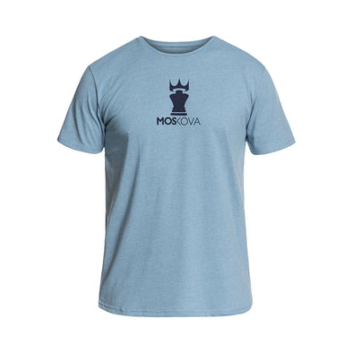 MOSKOVA / CORPOCROWN Tシャツ Heather Blue