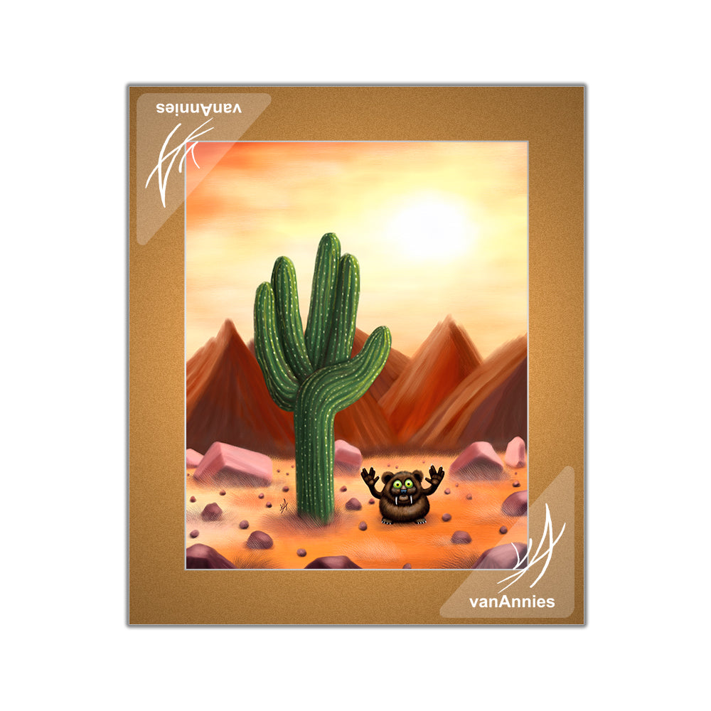 Live Long and Prosper Matted Print