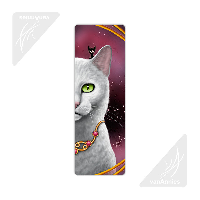 Zodiac Cat Cancer Metal Bookmark