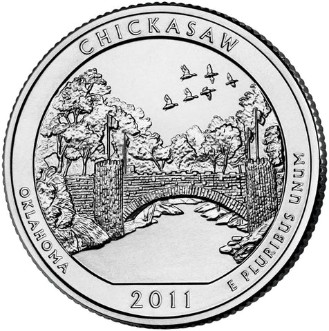 2011-D Chickasaw National Recreation Area, OK Quarter