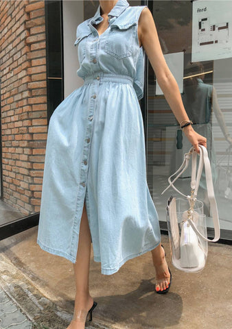 How To Be A Queen Denim Dress