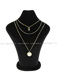 Genius Of Love Multi Rank Necklace