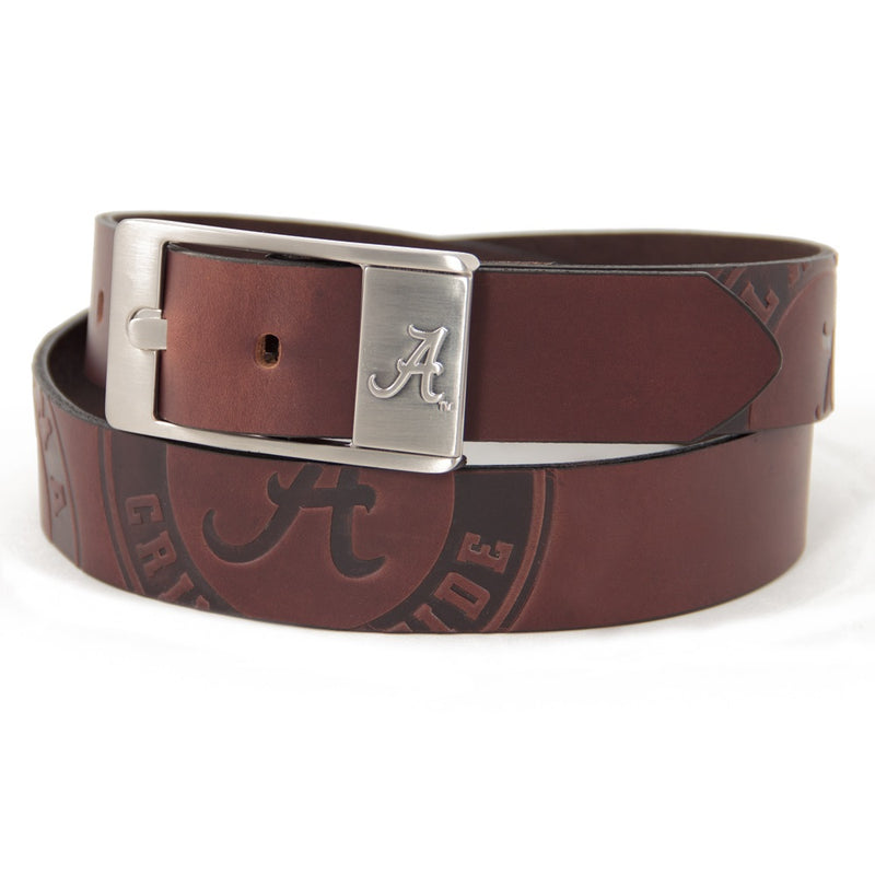 University of Alabama Brandish Leather Belt