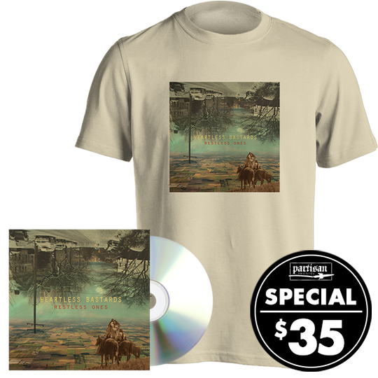 Restless Ones CD + T-shirt Bundle