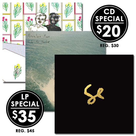 6 Degrees of Sylvan Esso - BOBBY + Sylvan Esso + Mountain Man (LP or CD Bundle)