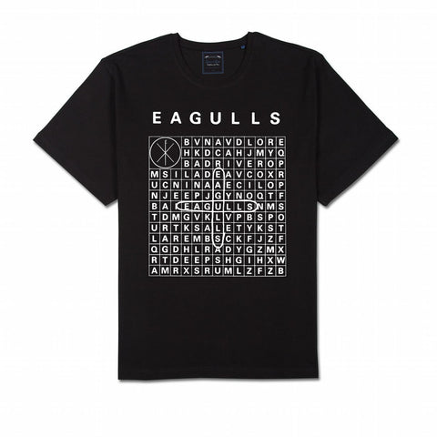 Eagulls Crossword T-Shirt