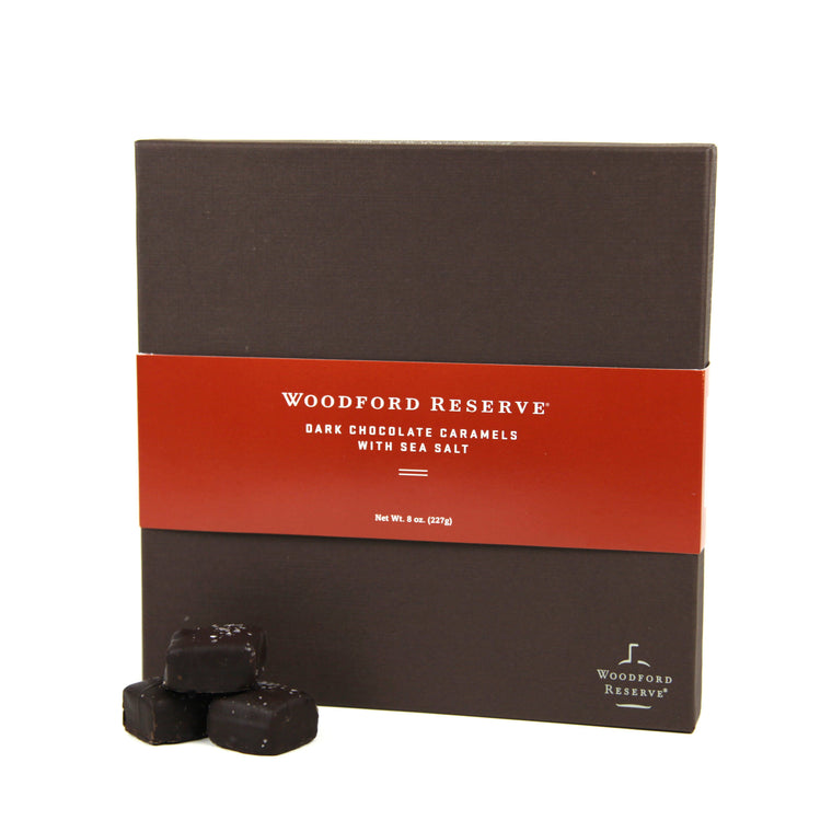 Woodford Reserve® Dark Chocolate Caramels with Sea Salt