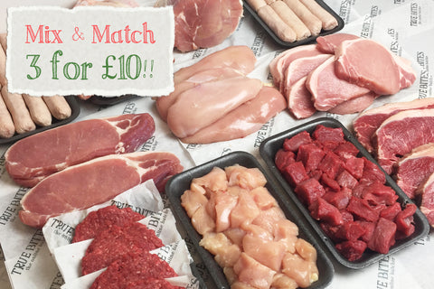 mix and match 3 for £10