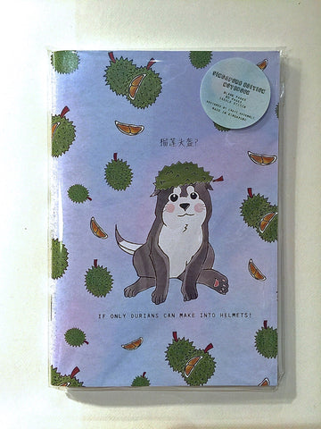 Durian Dog A6 Notebook