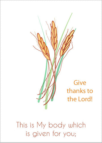 Give Thanks to the Lord Greeting Card