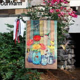 "FREE ""Welcome"" Garden Hanging Flag"
